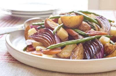 Southeast Dairy Association - roasted vegetable potato salad
