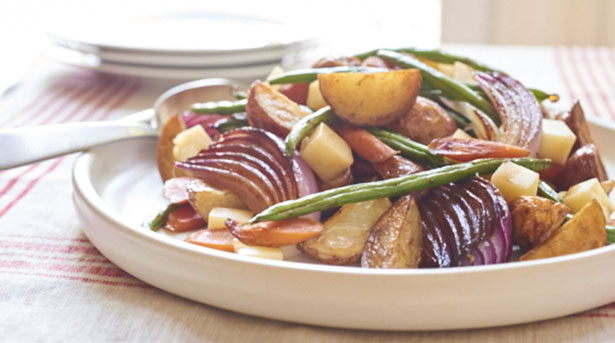 Southeast Dairy Association - roasted vegetable potato salad