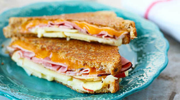 Southeast Dairy Association - grilled cheese harvest sandwich