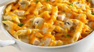 Southeast Dairy Association - turkey tetrazzini with cheddar and parmesan