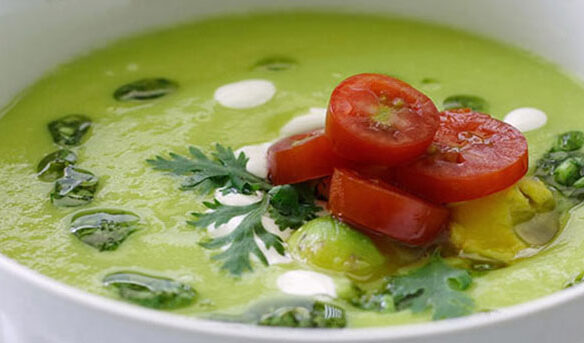 Southeast Dairy Association - chilled avocado soup