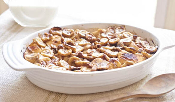 Southeast Dairy Association - banana pecan french toast bake