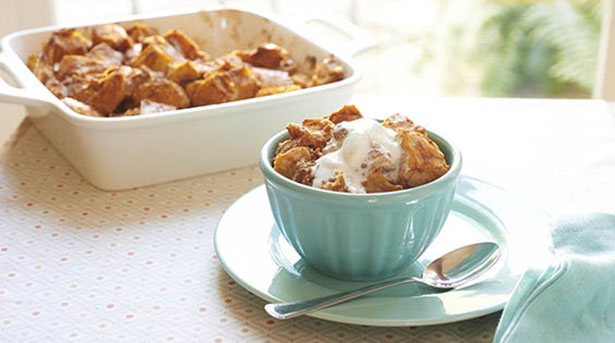 Southeast Dairy Association - pumpkin bread pudding