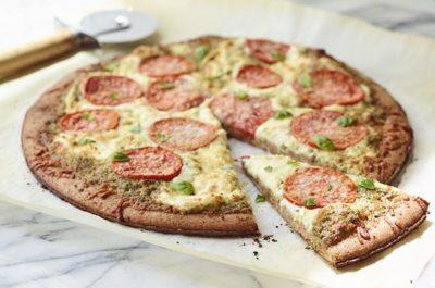 Southeast Dairy Association - Three-Cheese Tomato-Basil Pizza