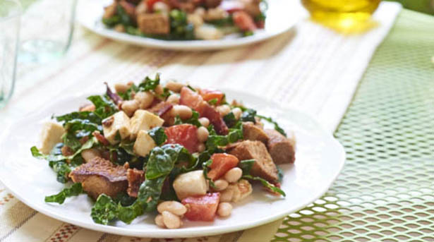 Southeast Dairy Association - kale white bean panzanella