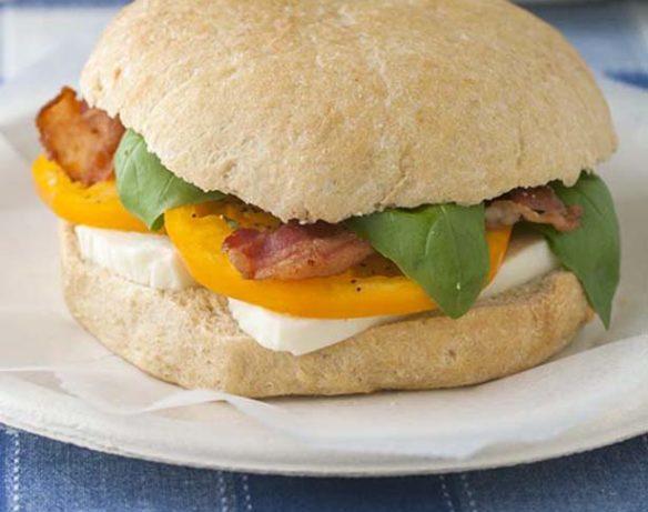 Southeast Dairy Association - bacon caprese sandwich