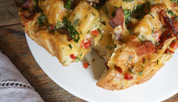 Southeast Dairy Association - pimiento cheese bacon bread