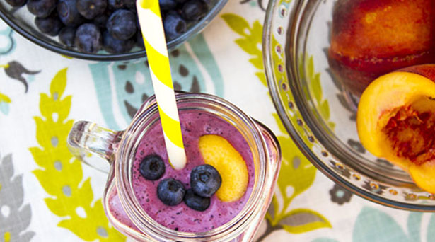 Southeast Dairy Association - blues buster berry smoothie