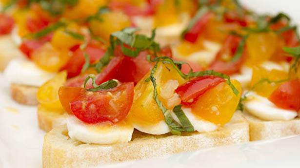 Southeast Dairy Association - caprese crostini