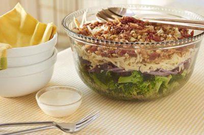Southeast Dairy Association - layered broccoli salad