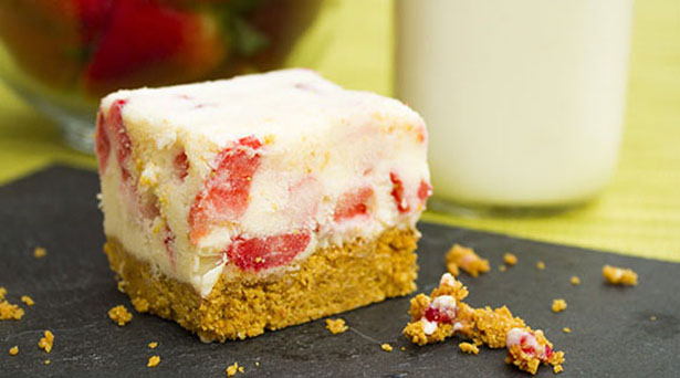 Southeast Dairy Association - strawberry frozen yogurt bars