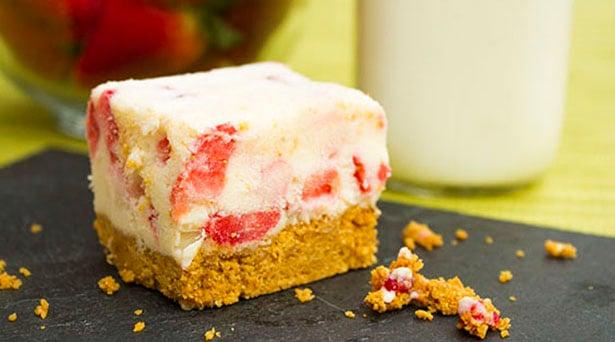 Southeast Dairy Association - strawberry frozen yogurt bars
