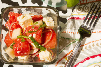 Southeast Dairy Association - watermelon feta salad