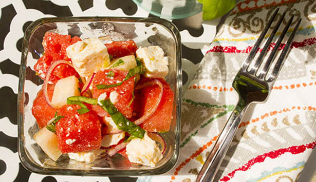 Southeast Dairy Association - watermelon feta salad