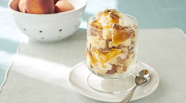 Southeast Dairy Association - peach preserves sundae
