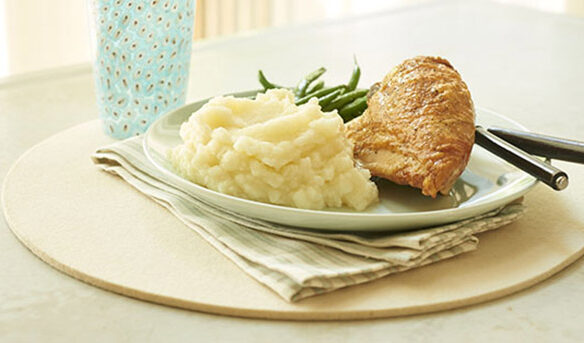 Southeast Dairy Association - roasted chicken and garlic mashed potatoes