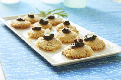 Southeast Dairy Association - shortbread with fig jam