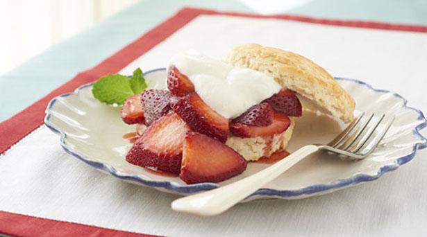 Southeast Dairy Association - strawberry yogurt shortcake