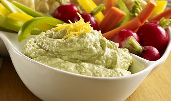 Southeast Dairy Association - cheesy guacamole