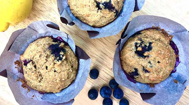 Southeast Dairy Association - blueberry muffins