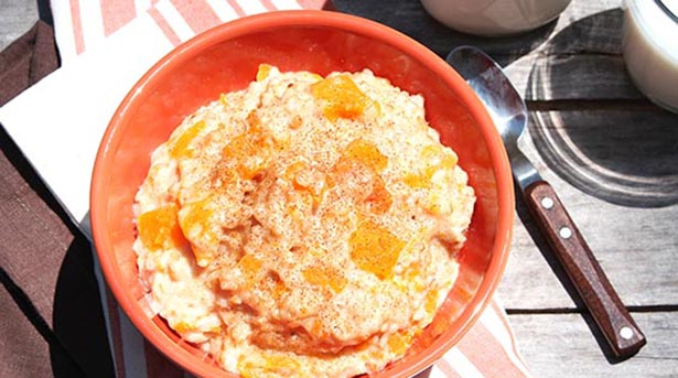 Southeast Dairy Association - butternut oatmeal