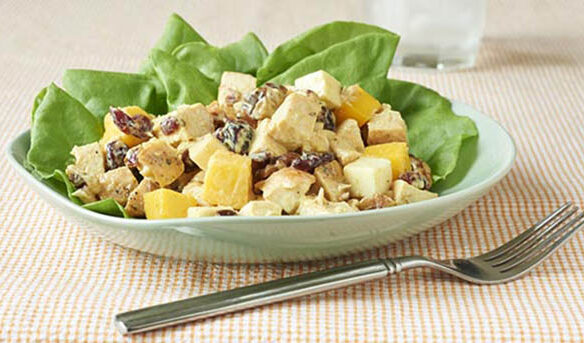 Southeast Dairy Association - mango curry chicken salad