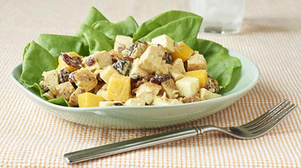 Southeast Dairy Association - mango curry chicken salad