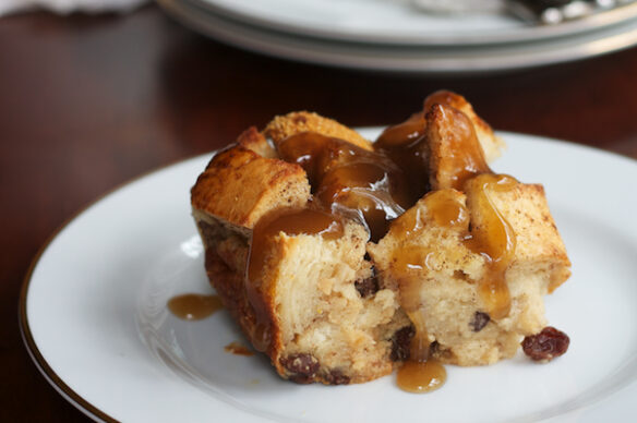 Southeast Dairy Association - lactose free bourbon bread pudding