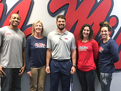 Ole Miss Sports Nutrition Team