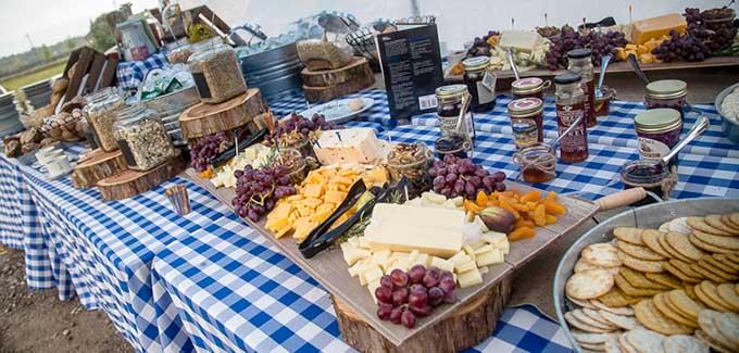 Southeast Dairy Association - FNCE food spread