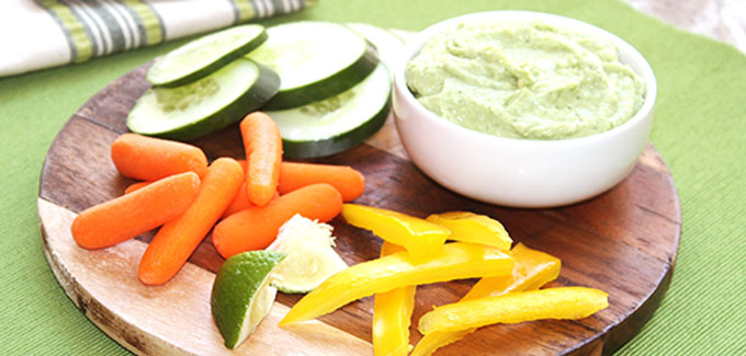 Southeast Dairy Association - Avocado Yogurt Hummus