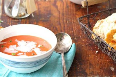 Southeast Dairy Association - roasted pepper tomato soup