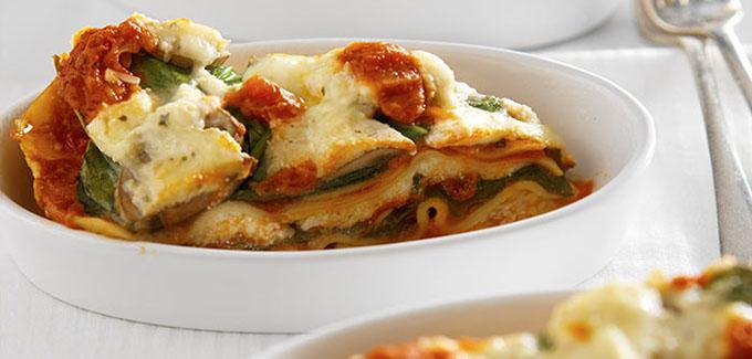 Southeast Dairy Association - Slow Cooker Veggie Lasagna