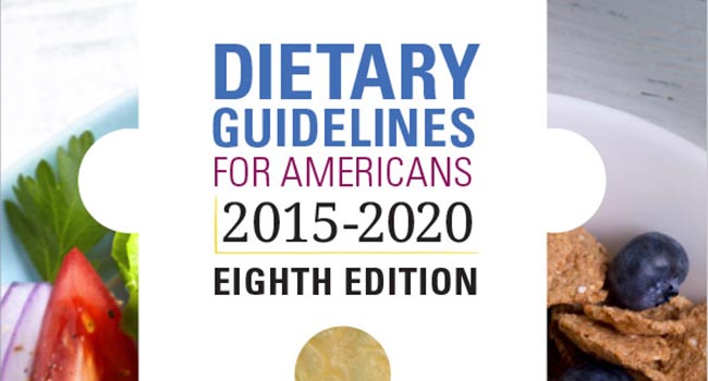 Southeast Dairy Association - Dietary Guidelines 2015-2020