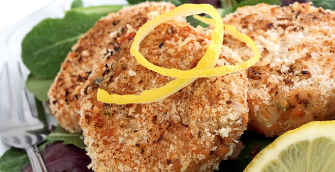 Southeast Dairy Association - Salmon cakes