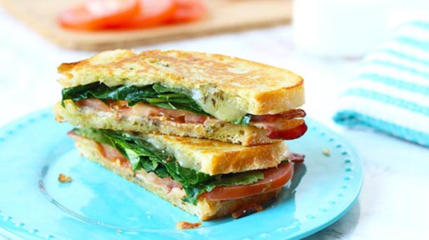 Southeast Dairy Association - bacon kale gouda tomato