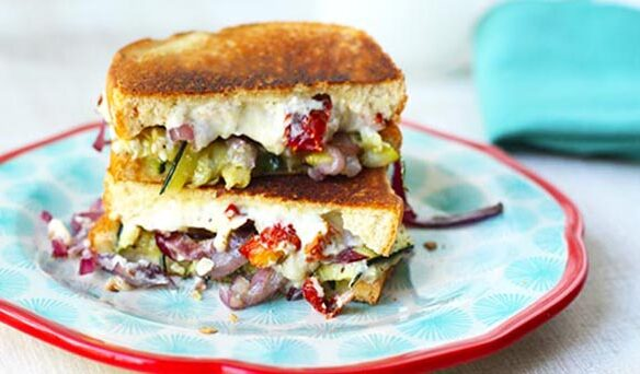 Southeast Dairy Association - ricotta veggie stuffed griller