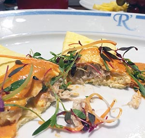 Crab Cream Omelete