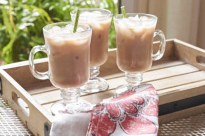 Southeast Dairy Association - almond mocha iced coffee