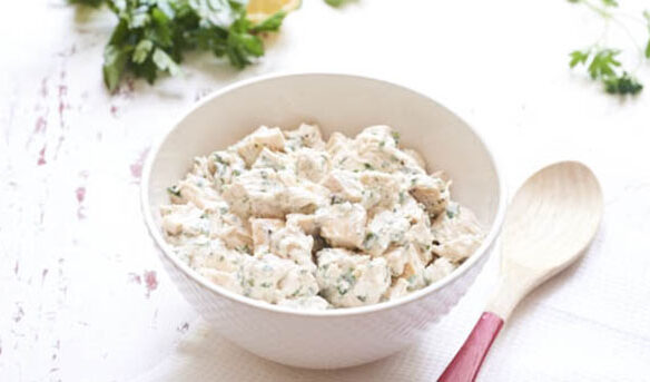 Southeast Dairy Association - spring herb chicken salad