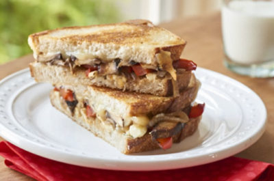 Southeast Dairy Association - portobello sandwich