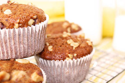 Southeast Dairy Association - buttermilk banana bread muffins