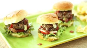 Southeast Dairy Association - cheese stuffed sliders