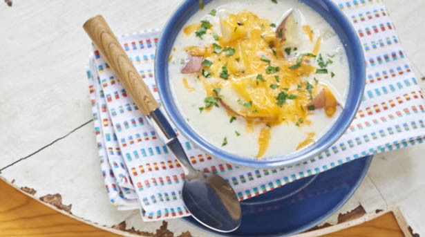 Southeast Dairy Association - coble potato soup