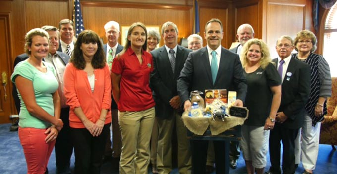 Southeast Dairy Association - Kentucky Dairy Month Proclamation
