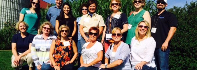 Southeast Dairy Association - SUDIA staff and friends at Fair Oaks Farms