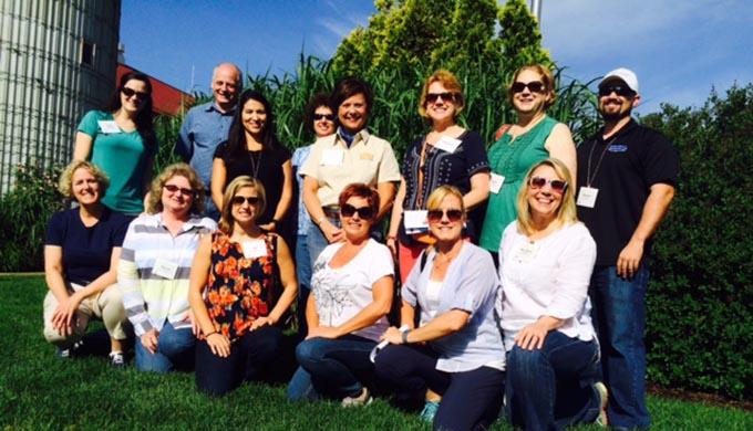 Southeast Dairy Association - SUDIA staff and friends at Fair Oaks Farms