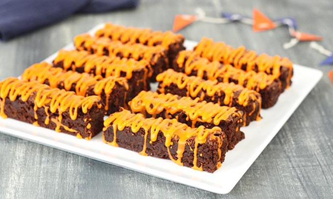 Southeast Dairy Association - Tiger Stripe Brownies