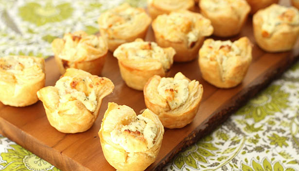 Southeast Dairy Association - Blue Cheese Apricot Puffs
