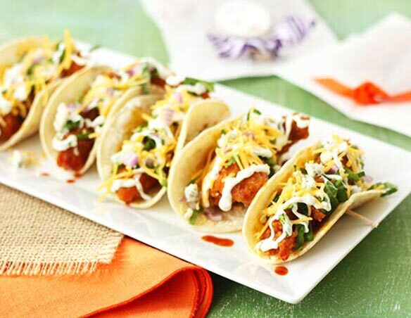 Southeast Dairy Association - Tiger Tail Chicken Tacos